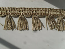 "Tassel Trim 2"" Drapery Fringe Curtain Lamp New GOLD 20 Yards Sewing crafts"
