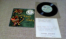 """ANIMAL VOICES OF AFRICA KENYA PS EP 1st 7"""" 45 NATURE FIELD RECORDING SAMPLES"""