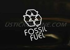 RECYCLE FOSSIL Car Decal Graphic Sticker Euro DUB JDM Drift Funny Race Scene VAG
