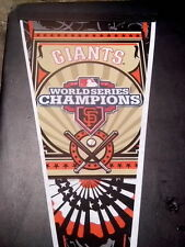 "New San Francisco Giants 2012 World Series Champions Pennant 12"" X 30"""