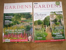 2 QUALITY BRITISH GARDEN MAGAZINES,GARDENS ILLUSTRATED,JULY 2004,MAY 2008.