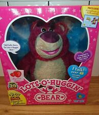 TOY STORY SIGNATURE LOTSO HUGGIN BEAR - BOXED - BRAND NEW WITH CERTIFICATE