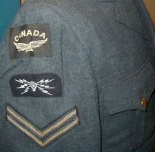 Original 1942 dated Royal Canadian Air Force Wool Dress Jacket RCAF - size 38