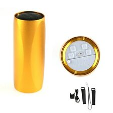 Golden Sports Bicycle Music MP3 Player FM Radio Micro SD/TF Car Mini Speaker