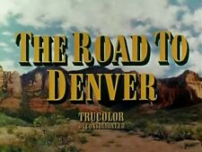 THE ROAD TO DENVER, 1955, JOHN PAYNE Republic Trucolor Western - DVD-R: Region 2