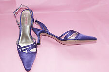 Jacques Vert Viola Purple Sling Back Shoes New without Box  UK 5 EU 38