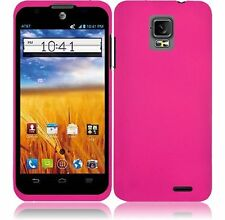 For ZTE Z998 Mustang UNICO Z930L Rubberized - Hot Pink