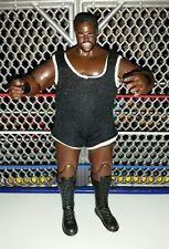 WWE Jakks wrestling figure Worlds Strongest Man Mark Henry! In cloth singlet!