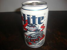 Super Bowl XXXI---Miller Lite Beer Can---12 oz. Can---Empty---1997