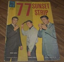77 SUNSET STRIP #1263 DELL (FOUR COLOR) COMIC IN VG- 1962