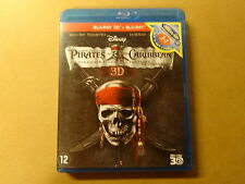 BLU-RAY 3D + BLU-RAY / PIRATES OF THE CARIBBEAN - ON STRANGER TIDES