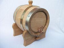 Wooden 5 L Litres Oak Keg Barrel Cask Wine Spirit Bourbon Christmas Gift