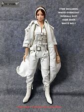 CC282 1/6 DOLLSFIGURE Overcoat with Bodysuit Set for PHICEN,HOT TOYS,Hot Stuff