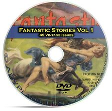 Fantastic Science Fiction, Vol 1, 49 Classic Pulp Magazine, Golden Age DVD C49