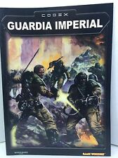 Warhammer 40000 40k Guardia imperial codex games workshop suplemento libro book