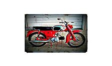 1964 c200 Bike Motorcycle A4 Photo Poster