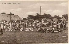 Caister near Great Yarmouth. Camp. In the Square.
