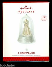 HALLMARK O CHRISTMAS ANGEL LIGHT, SOUND & MOTION CHRISTMAS ORNAMENT 2013 NIB