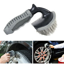 Car Wheel Tire Rim Scrub Brush Washing Cleaner Cleaning Vehicle Motorcycle Tool