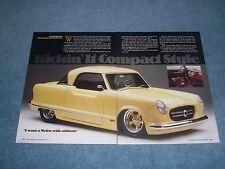 "1960 Nash Metropolitan Custom Article ""Compact Style"""