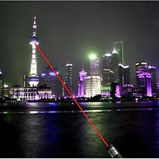 Nuovo Rosso Puntatori Laser Luce Penna Fascio 650NM Con Stella Cap 0.5mW