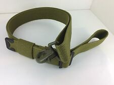 FORD GPW AND WILLYS MB, SAFETY STRAP WEBBING WITH BUCKLES AND FASTENING CLIP