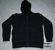 J338 M Handmade Wool Fleece Hoodie heavy gift Men winter Jacket Jumper Nepal