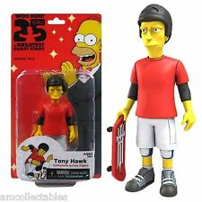 NECA SIMPSONS WOO HOO 25 YEAR GREATEST GUEST STARS - TONY HAWK - FIGUR - NEU