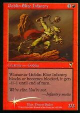 Goblin elite Infantry foil | ex | 7th | Magic mtg