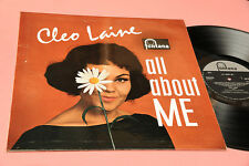 CLEO LAINE LP ALL ABOUT ME ORIG UK 1962 NM !!! LAMIANTED COVER !!!!!!!!!!!!!