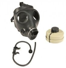 Israeli Civilian Gas Mask with NBC NATO Filter and Drinking Hydration Tube, New