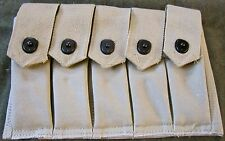 WWII US ARMY INFANTRY m1 m1a1 THOMPSON MG 5 CELL 20 ROUND AMMO POUCH-OD#3