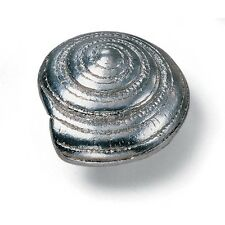 """Cabinet Hardware Spiral Shell Knobs 56560 Antique Pewter 1-5/8"""" diam"""