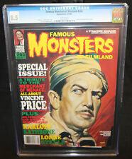 Famous Monsters of Filmland #203 - Vincent Price Issue - CGC Grade 8.5 - 1994