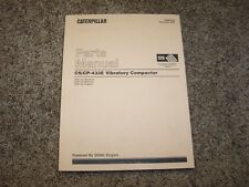 Caterpillar Cat CS CP 433E Vibratory Compactor 3054C Engine Parts Catalog Manual