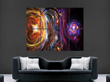 TRIPPY PSYCHEDELIC ART HUGE WALL GIANT POSTER IMAGE PRINT LARGE