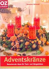 Adventskränze + Bezaubernde Ideen für Tisch und Hängekränze + Advent + Weihnacht