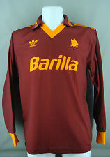 AS Rom Heim Home Trikot 1992 - 1994 - L - ADIDAS - LARGE - AS Roma - TOP