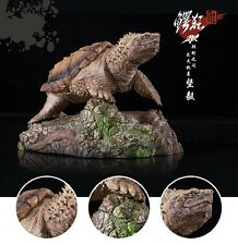 Common Snapping Turtle Resin Model Figurine Figure hand painted