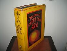The Complete Golden Dawn Israel Regardie HB 1994 Teachings & Rites Acceptable