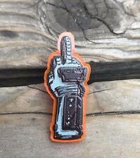 FKN RAD Limited Edition Lapel Pin Back Acrylic Power Glove NES Nintendo