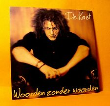 Cardsleeve Single CD DE KAST Woorden Zonder Woorden 2TR 1998 dutch pop rock