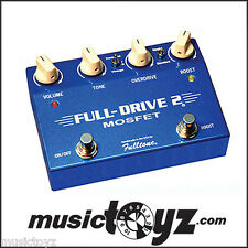 Fulltone Fulldrive II Mosfet Overdrive Guitar Pedal, NEW, FREE Ship and Gift