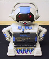 1992 TIGER 2-XL TALKING ROBOT CASSETTE PLAYER TAPE TESTED WORKS GREAT SEE VIDEO