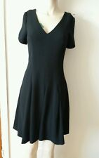 NEXT BLACK SKATER DRESS SIZE 12 NEW WITH TAGS