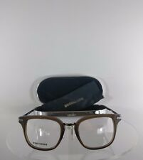 Brand New Authentic Dsquared2 DQ 5137 045 Eyeglasses Brown/Silver Frame