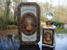 Flacon Ancien BACCARAT - SOUVENIR DE LA COUR de R. & GALLET Coffret - Perfume