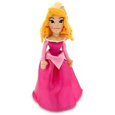 Disney Store AURORA Mini Bean Bag Plush Sleeping Beauty Princess Doll Toy 12""
