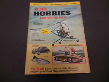 Air Trails Magazine Hobbies for Young Men July 1954 Capital's New Helli-Copter