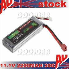 11.1V 2200MAH 30C Polymer lithiumion battery for Quadcopter RC Aircraft Jet Car